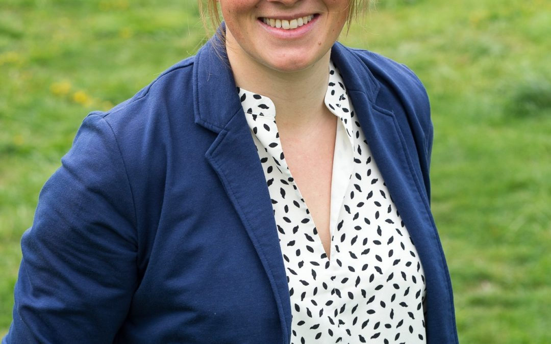 Portrait de Maria, responsable marché de traduction allemand